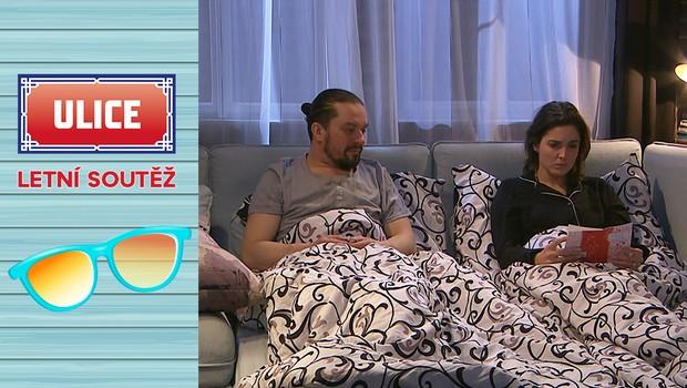 SOUTĚŽ: Všimli jste si? Nezvaný host v ložnici Karly a Máry!