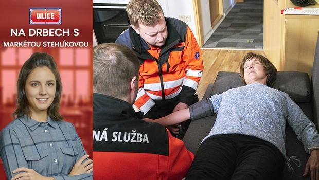 Dramatický týden u Marečků: Další kolaps, operace a odjezd na plošinu