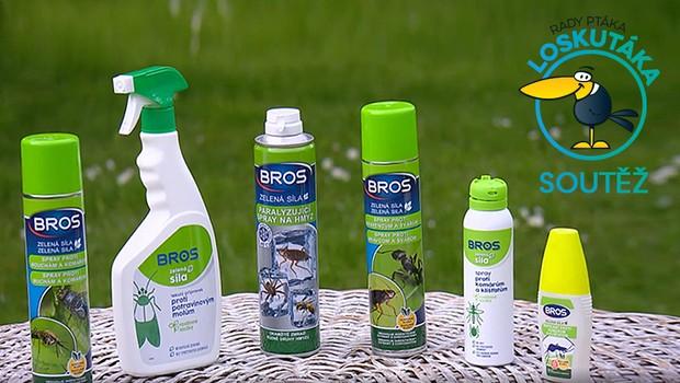 Kdo vyhrál s pořadem Rady ptáka Loskutáka produkty proti molům, komárům a klíšťatům?