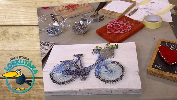 Vyrobte si originální dekoraci! String art vyžaduje trpělivost a pevné nervy