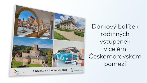 Kdo vyhrál balíček rodinných vstupenek v turistické oblasti Českomoravské pomezí?