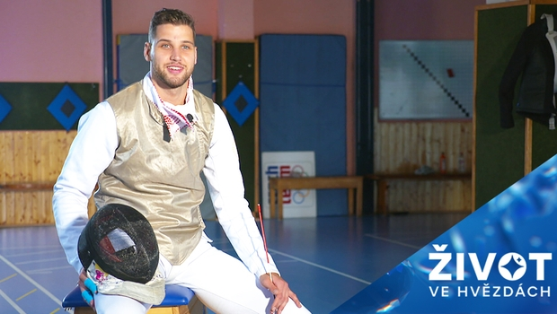 Olympionik Alexander Choupenitch má kromě šermu nečekanou vášeň!