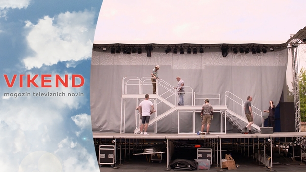 Vrcholí přípravy na Letní shakespearovské slavnosti. Nahlédněte s námi do zákulisí!