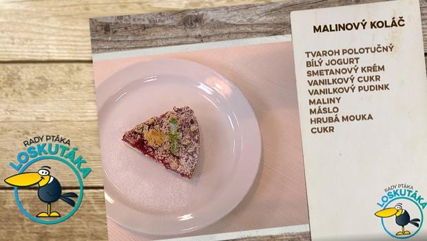 Rady ptáka Loskutáka - Malinový koláč