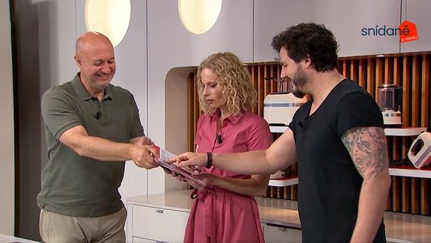 Kuchařka s příběhem: Roman Staša představil svou novou knihu Matla!