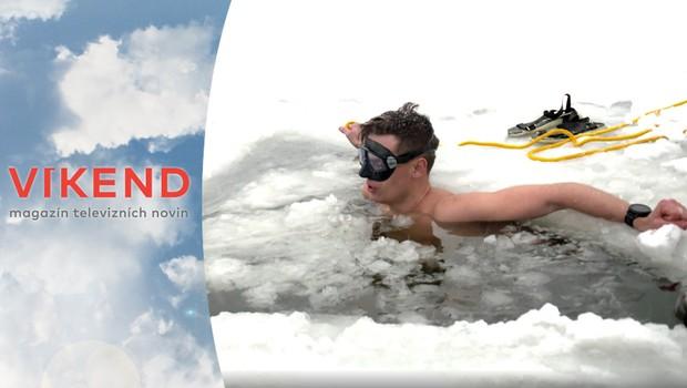 Neuvěřitelné! Český freediver překonal světový rekord v plavání pod ledem