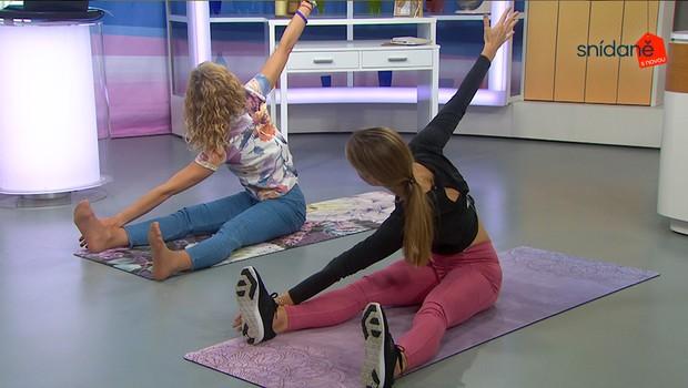 Cvičení se Snídaní: Kompletní posílení břišních svalů!